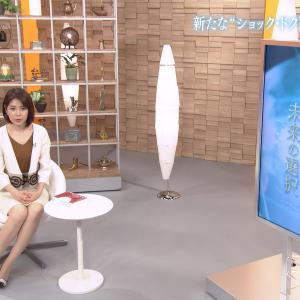 鎌倉千秋アナ ミニスカ & ニット!