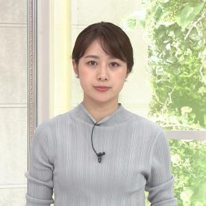林美沙希アナ ニット乳!