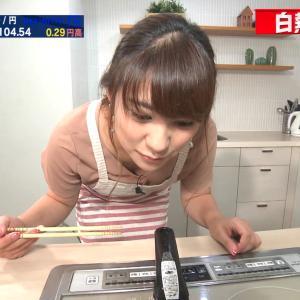 北村まあさアナ 胸チラ、谷間チラ!!【GIF動画あり】