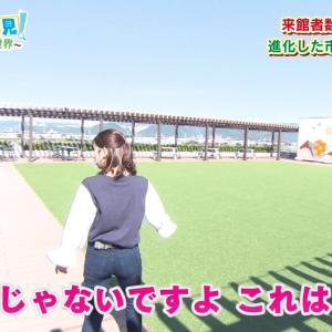 野嶋紗己子アナ ピタパンのお尻がピチピチ!!【GIF動画x3あり】