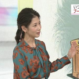 桑子真帆アナ 巨乳! おはよう日本