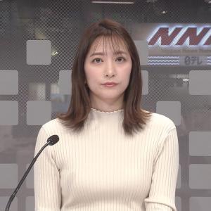 笹崎里菜アナ ニット乳!