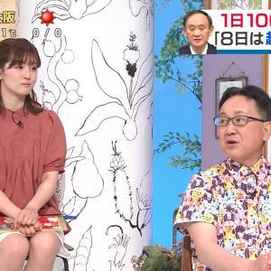 中村秀香アナ ▼ゾーン & 横乳!
