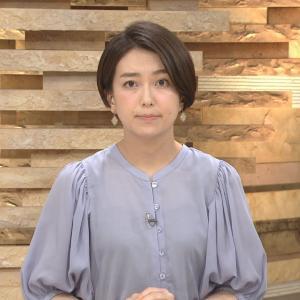 和久田麻由子アナ 薄っすらと透ける!!