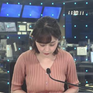 若林有子アナ 意外と豊乳!!