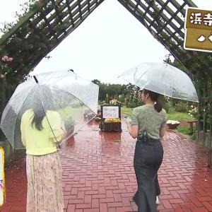 斎藤真美アナ タイトスカートのお尻と、谷間に食い込むシートベルト!!【GIF動画あり】