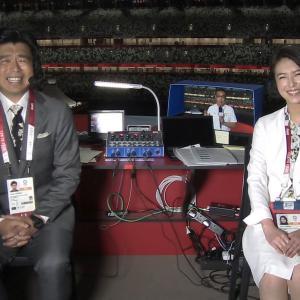 和久田麻由子アナ 東京2020オリンピック開会式