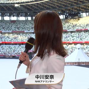 中川安奈アナ 東京2020オリンピック開会式直前SP