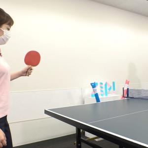 水卜麻美アナ 卓球レポートで巨乳とブラ線がクッキリ!!【GIF動画あり】