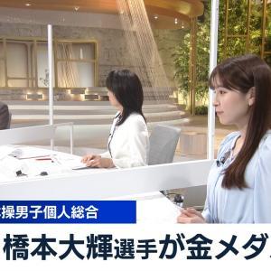 角谷暁子アナ 横乳! ワールドビジネスサテライト
