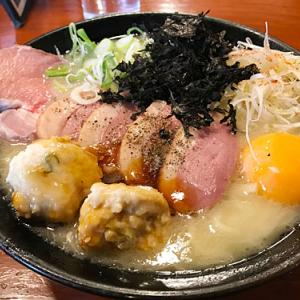 【簡レポ】 吟とん 濃厚肉盛り鶏白湯