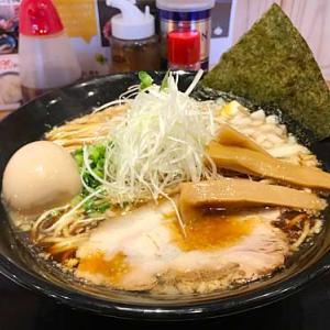【簡レポ】 札幌海老麺舎 背脂煮干そば