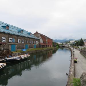 北海道旅行の3日目4日目 小樽と富良野と札幌