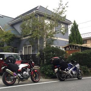 2019 北海道ツーリング #1  夫婦ライダーで行ってきま~す(*^^)v