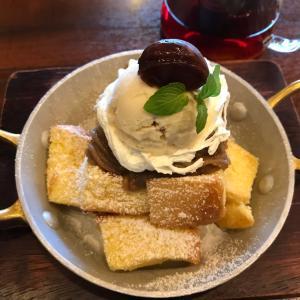 星野珈琲  モンブランのフレンチトースト