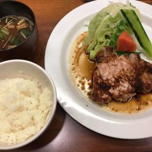 肉が食べたい! もち豚の網焼き定食 kitchen NOMU