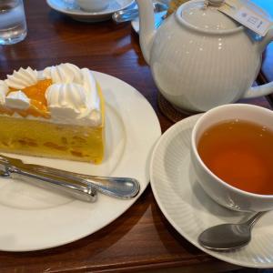 HARVS栄本店へ マンゴーケーキ