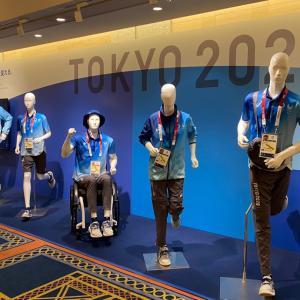 東京オリンピックボランティアがんばっています マンゴープリン