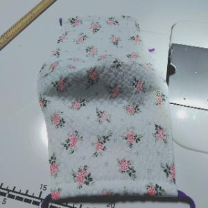 プリーツマスク縫い縫い