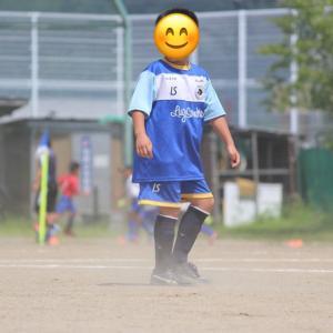 toned body日記624 気合の息子くんサッカーの試合へGO