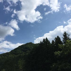 toned body日記691 夏空!明日はお休みです(^^)