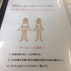 toned body日記741 秋のダイエットチャレンジ絶大効果