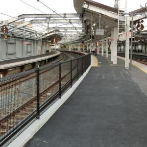 鴫野駅の工事の変遷を写真にまとめてみた