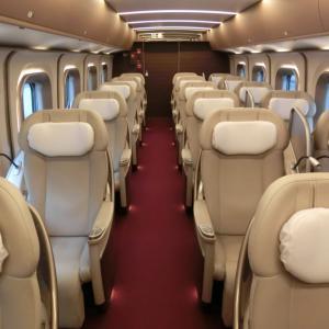 東北・北海道新幹線はやぶさのグランクラスに乗った話