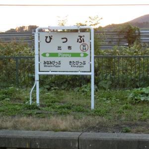 ピップエレキバンのCMと比布(ぴっぷ)駅