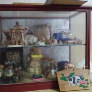 実家片付け お人形 そしてガラスケース