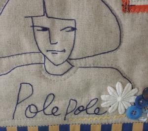 polepoleさん、バッグになる。