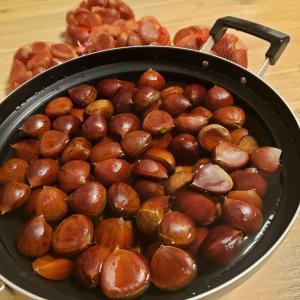 栗の渋皮煮6キロ分〜