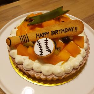 誕生日ケーキのオーダーいただきましたです♡