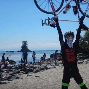 2日連続富山や部活サイクリング うっすら立山連邦ゆっくり帰路編