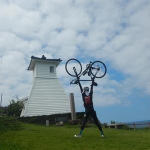 能登でぶ活や部練へろへろサイクリング 福浦灯台と能登豚スタミナ丼編