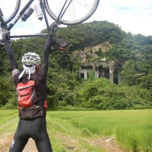 加賀や部活文化部サイクリング 苔の里のち滝ケ原アーチ型石橋群編
