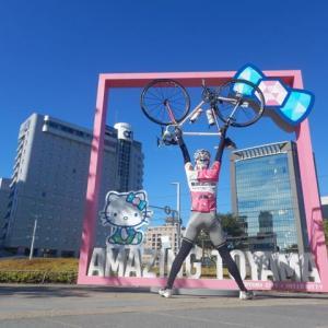 富山飛だんごサイクリング ピンクキティちゃん編