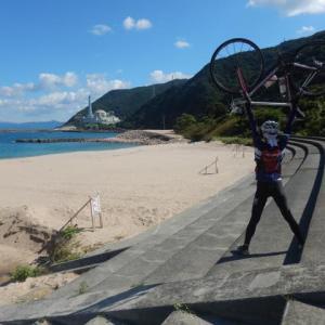 敦賀美浜や部活遠征サイクリング 原発施設近くの海は綺麗編