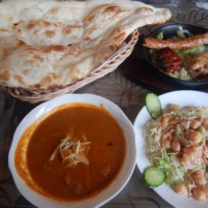 富山パキスタン料理カレーサイクリング パキスタン料理アルバラカで部活編