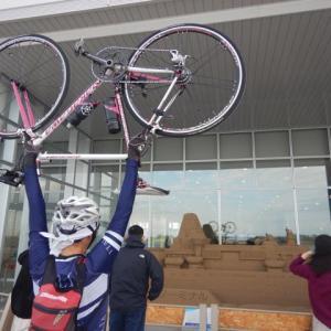 今年最後の紅葉那谷寺サイクリング 往路は追い風最後は向かい風編
