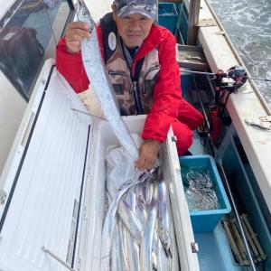 9月28日(月) タチウオ釣果