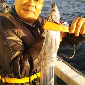 10月24日(土) タチウオ釣果