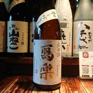 冩樂純米酒初しぼり!今夜は『第322回和酒BarSHU』営業です!今日はめでたい日!