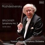 CD ロジェストヴェンスキー読響のブルックナー:交響曲第5番