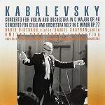CD オイストラフとシャフランのカバレフスキー:協奏曲