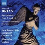 CD アレクサンダー・ウォーカーのブライアン:交響曲第7、16番
