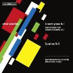 CD ヒューズのシュニトケ:交響曲第9番、合奏協奏曲第1番(異版)