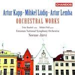 CD ヤルヴィのカップ、レンバ、リュディグ:管弦楽作品集