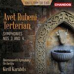 CD カラビツのテルテリアン:交響曲第3番、第4番