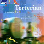 CD チェクナヴォリアンのテルテリアン:交響曲第3番、第4番